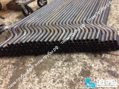 Производство отводов для Ж/Д цистерн из стальной безшовной трубы 32х3мм