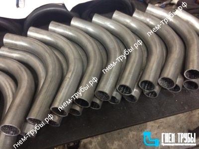 Изготовление отводов из круглой алюминиевой трубы 32х2мм